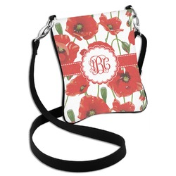 Poppies Cross Body Bag - 2 Sizes (Personalized)