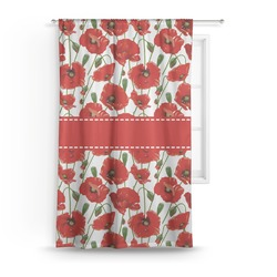 Poppies Curtain (Personalized)