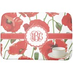 Poppies Dish Drying Mat (Personalized)