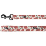 Poppies Deluxe Dog Leash (Personalized)