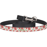 Poppies Dog Leash (Personalized)