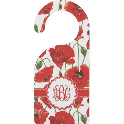 Poppies Door Hanger (Personalized)