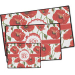 Poppies Door Mat (Personalized)