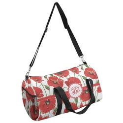 Poppies Duffel Bag (Personalized)