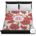 Poppies Duvet Cover (Personalized)
