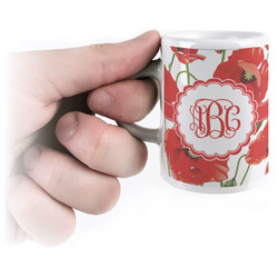 Poppies Espresso Cups (Personalized)