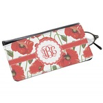 Poppies Genuine Leather Eyeglass Case (Personalized)