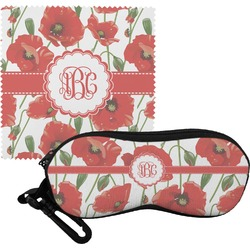 Poppies Eyeglass Case & Cloth (Personalized)