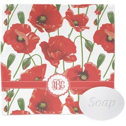 Poppies Washcloth (Personalized)