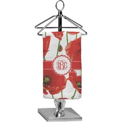Poppies Finger Tip Towel - Full Print (Personalized)