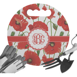 Poppies Gardening Knee Cushion (Personalized)