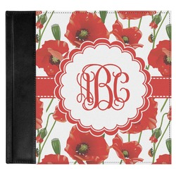 Poppies Genuine Leather Baby Memory Book (Personalized)