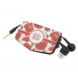 Poppies Genuine Leather Cord Wrap (Personalized)