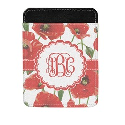 Poppies Genuine Leather Money Clip (Personalized)