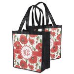 Poppies Grocery Bag (Personalized)