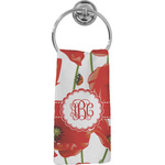 Poppies Hand Towel - Full Print (Personalized)