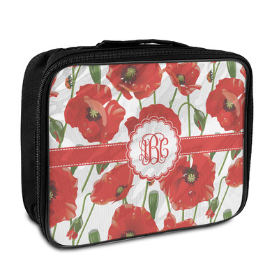 Poppies Insulated Lunch Bag (Personalized)