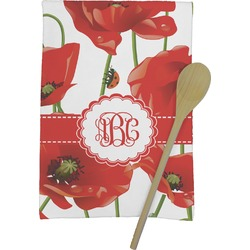 Poppies Kitchen Towel - Full Print (Personalized)