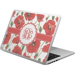 Poppies Laptop Skin - Custom Sized (Personalized)