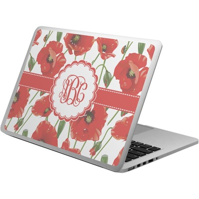 Poppies Laptop Skin - Custom Sized (Personalized)