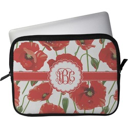 """Poppies Laptop Sleeve / Case - 15"""" (Personalized)"""