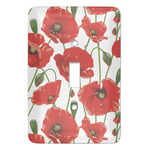 Poppies Light Switch Covers (Personalized)
