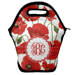 Poppies Lunch Bag w/ Monogram
