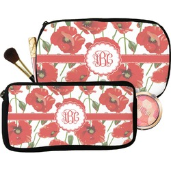 Poppies Makeup / Cosmetic Bag (Personalized)