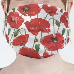 Poppies Face Mask Cover (Personalized)