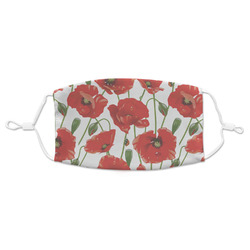 Poppies Adult Cloth Face Mask (Personalized)