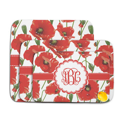Poppies Memory Foam Bath Mat (Personalized)