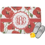 Poppies Memory Foam Bath Mat (Personalized)