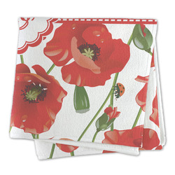 Poppies Large Microfiber Dish Rag (Personalized)