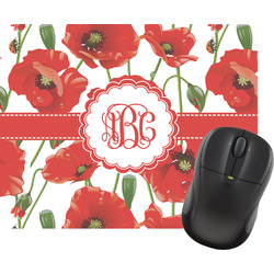 Poppies Mouse Pad (Personalized)