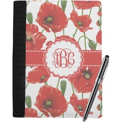 Poppies Notebook Padfolio (Personalized)