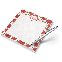 Poppies Notepad (Personalized)