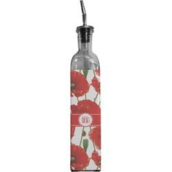 Poppies Oil Dispenser Bottle (Personalized)