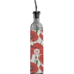 Poppies Oil Dispenser Bottle (Personalized)