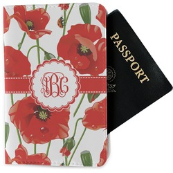 Poppies Passport Holder - Fabric (Personalized)