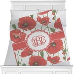 Poppies Minky Blanket (Personalized)