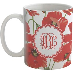 Poppies Coffee Mug (Personalized)