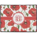 Poppies Door Mat (Personalized)