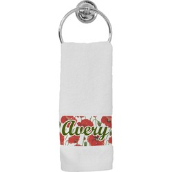 Poppies Hand Towel (Personalized)