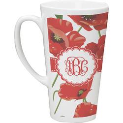 Poppies Latte Mug (Personalized)