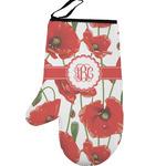 Poppies Left Oven Mitt (Personalized)
