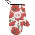 Poppies Right Oven Mitt (Personalized)