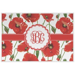 Poppies Placemat (Laminated) (Personalized)