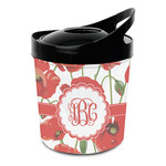Poppies Plastic Ice Bucket (Personalized)