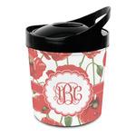 Poppies Plastic Ice Bucket (Personalized)