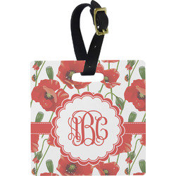 Poppies Luggage Tags (Personalized)